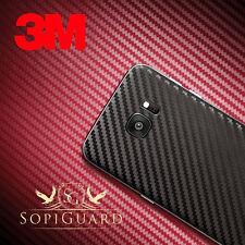 SopiGuard 3M 1080 Carbon Fiber Vinyl Skin Front + Back Samsung Galaxy S7 Edge