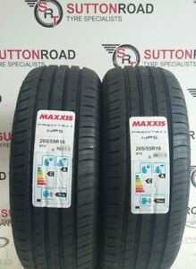 2-X-205-55-16-MAXXIS-PREMITRA-HP5-20555R16-91V-TYRES-A-RATED-WET-GRIP