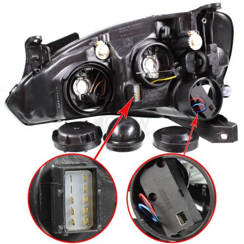 Halogen Scheinwerfer Set OPEL CORSA C Bj 09//00-06//03 H7//H7 mit Motor EJ2