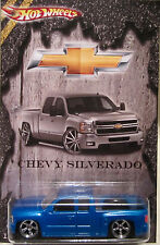 Hot Wheels CUSTOM CHEVY SILVERADO Real Riders Limited Edition 1/10 Made!
