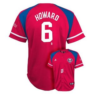 check out c91df 8e750 Details about ($50) MAJESTIC Philadelphia Phillies RYAN HOWARD Jersey YOUTH  KIDS BOYS (L-LARGE