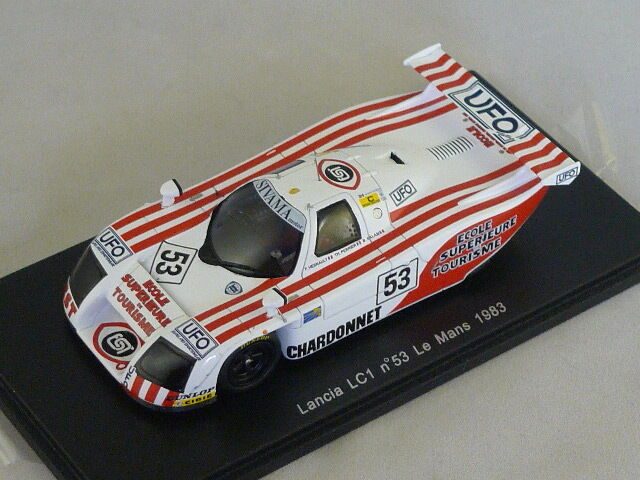 Spark S0664 - LANCIA LC1 n°53 Le Mans 1983 Hesnault - Perrier - Salam 1 43