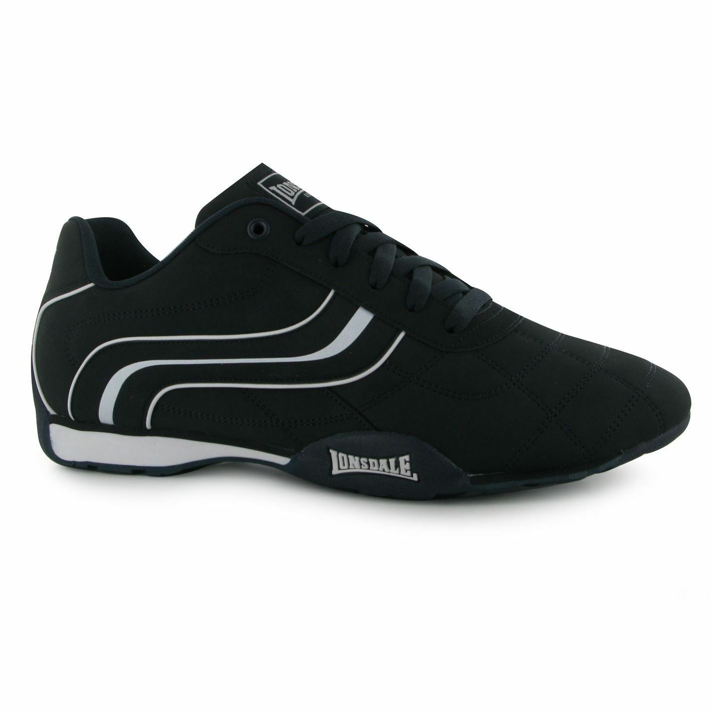 Lonsdale Camden Trainers Mens Navy White Casual Sneakers shoes shoes shoes Footwear 55509e