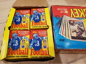 1985 Topps Football Wax Pack - From an Unopened and unsorted original box  MINT
