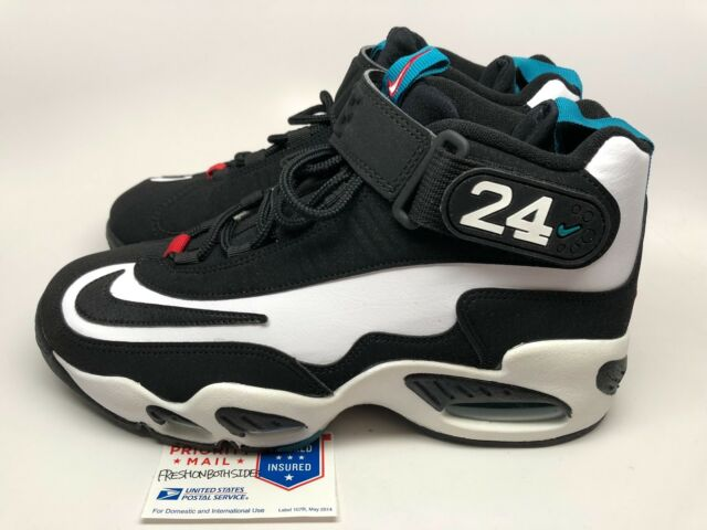 big sale 3bcaa eecc7 Nike Air Griffey Max 1 One Freshwater WhiteBlack uptempo 90 95 97 sz 7.5