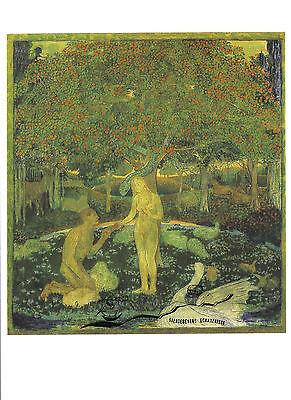 Kunstpostkarte - Cuno Amiet - Das Paradies