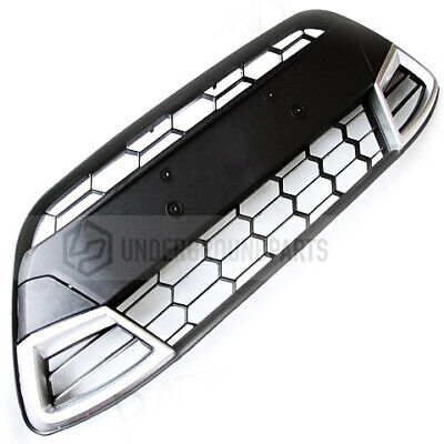 Underground Parts Style Sport Honeycomb Mesh Front Lower Grilles