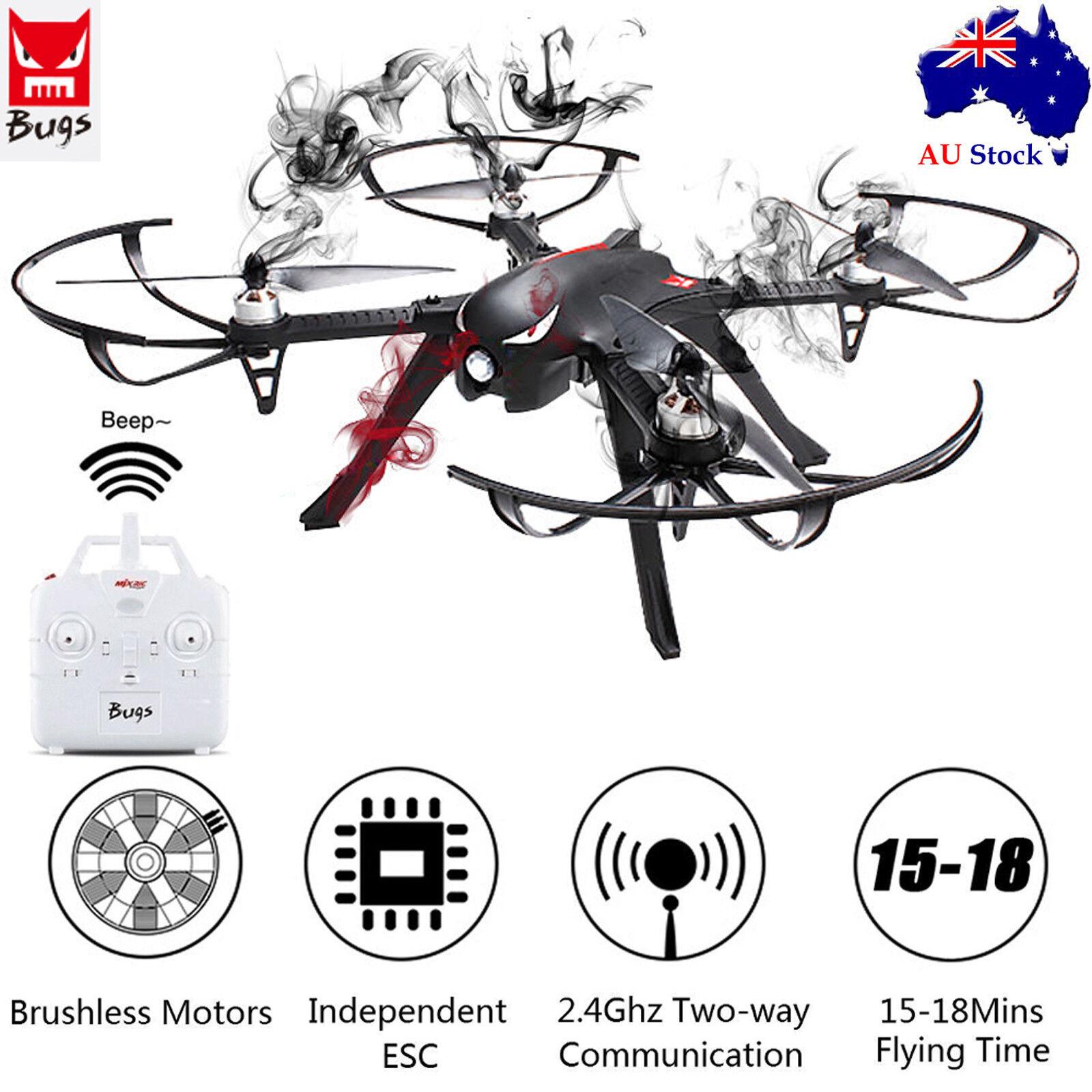 MJX B3 Bugs 3 rápido motor sin escobillas Cámara De Carreras RC Drone RTF 2.4G Cuadricóptero