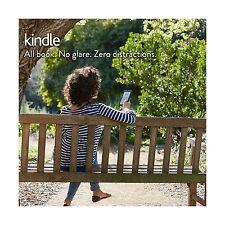 "Kindle E-reader - Black 6"" Glare-Free Touchscreen Display Wi-Fi... Free Shipping"