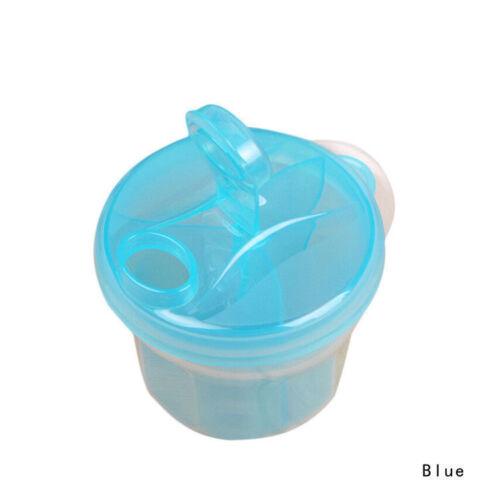 Milk Powder Dispenser 3 Dose of Baby Feeding Formula Storage Gift Acvt