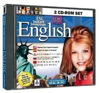 Esl Instant Immersion English 2 Cd-rom Set (jewel Case) -cd Rom