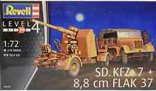 Revell 1/72 Sd.Kfz. 7 and 88mm Flak Plastic Model Kit 03210