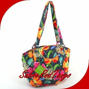 Nwt Vera Bradley Quilted Glenna Shoulder Bag Tote Purse