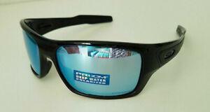 po Contabilità Spese  Oakley Turbine Sunglasses OO9263-14 Polished Black/Prizm Deep Water  Polarized 888392086167 | eBay