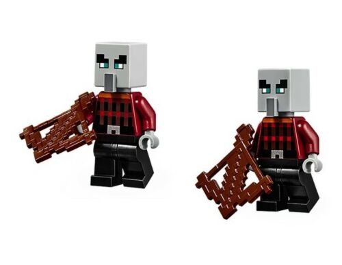 Lego Minecraft 2x Pillager Minifigure NEW!!!