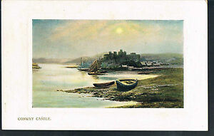 WILDT-AND-KRAY-POSTCARD-CONWAY-CASTLE-C1914-lightly-embossed-surround