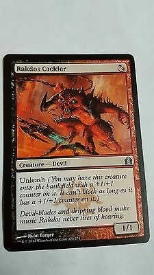 4x Rakdos Cackler Return to Ravnica