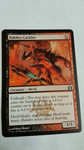 Rare 4x RAKDOS CACKLER NM Magic the Gathering MTG Return to Ravnica