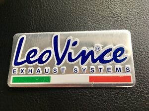 Leo-Vince-Exhaust-Sticker-Aluminium-3D-Heat-Proof-Resistant-Decal-Ducati-Ktm