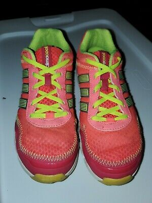 perfil suelo Duplicar  Girls Youth Adidas Climacool Lightweight Sneakers Shoes Pink Yellow Mesh  Size 4 | eBay