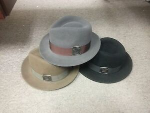 1f12e11ad6f Kangol Heritage Collection Linotype Hiro Trilby-3 Colors-M-NWT