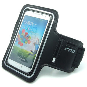 For Samsung Galaxy S4, S5 S6 & iPhone 6: Slim-Fit Active Sports Armband 3 Colors