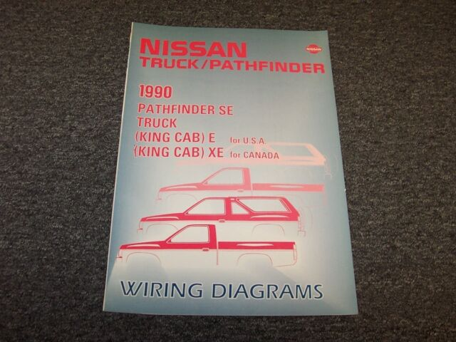 [DIAGRAM] 1991 Nissan Truck And Pathfinder Wiring Diagram ...