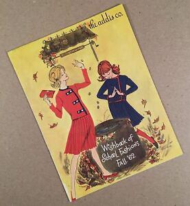 Syracuse-Dewitt-Fairmount-NY-1962-ADDIS-CO-DEPT-STORE-School-Fashions-Catalog