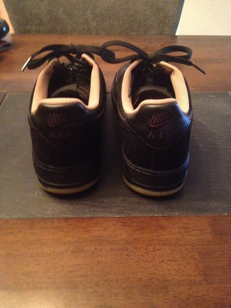 Nike af1 af1 Nike schwarzen gummi 12 neue! 143507