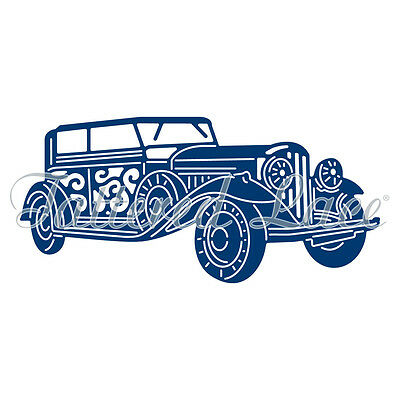 Tattered Lace Art Deco Streamliner/Car TLD0032 *Free Shipping/USA!*
