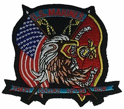 USMC with Eagle Globe /& Anchor Patch Full Color