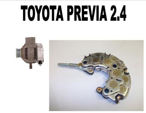 TOYOTA PREVIA 2.4 MPV 1990 1991-2000 NEW ALTERNATOR RECTIFIER