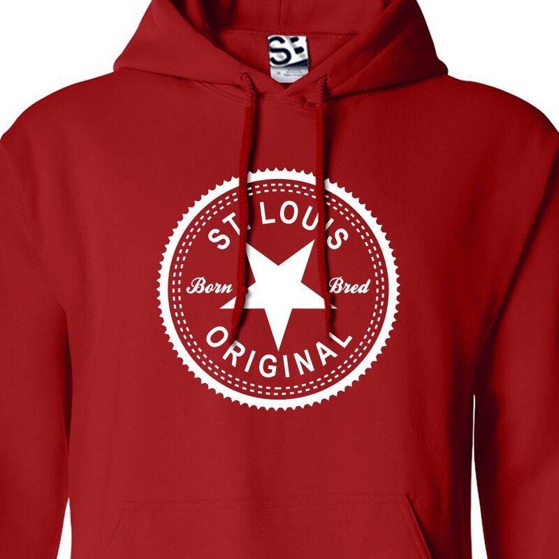 St. Louis Original Inverse HOODIE - Hooded Born & BROT Made in Sweatshirt