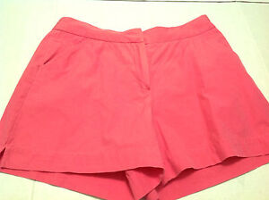 Herman Geist Size 12 Shorts - Coral color - Flat front - 2 deep pockets - NEW