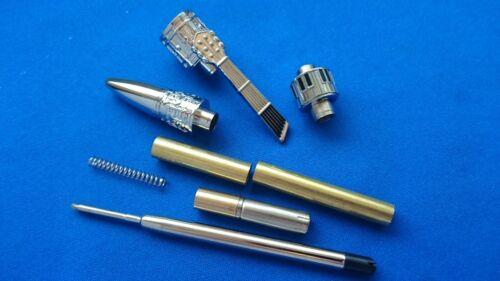 Chrome x 1 MELODY Pen kits Woodturning Pen Kits