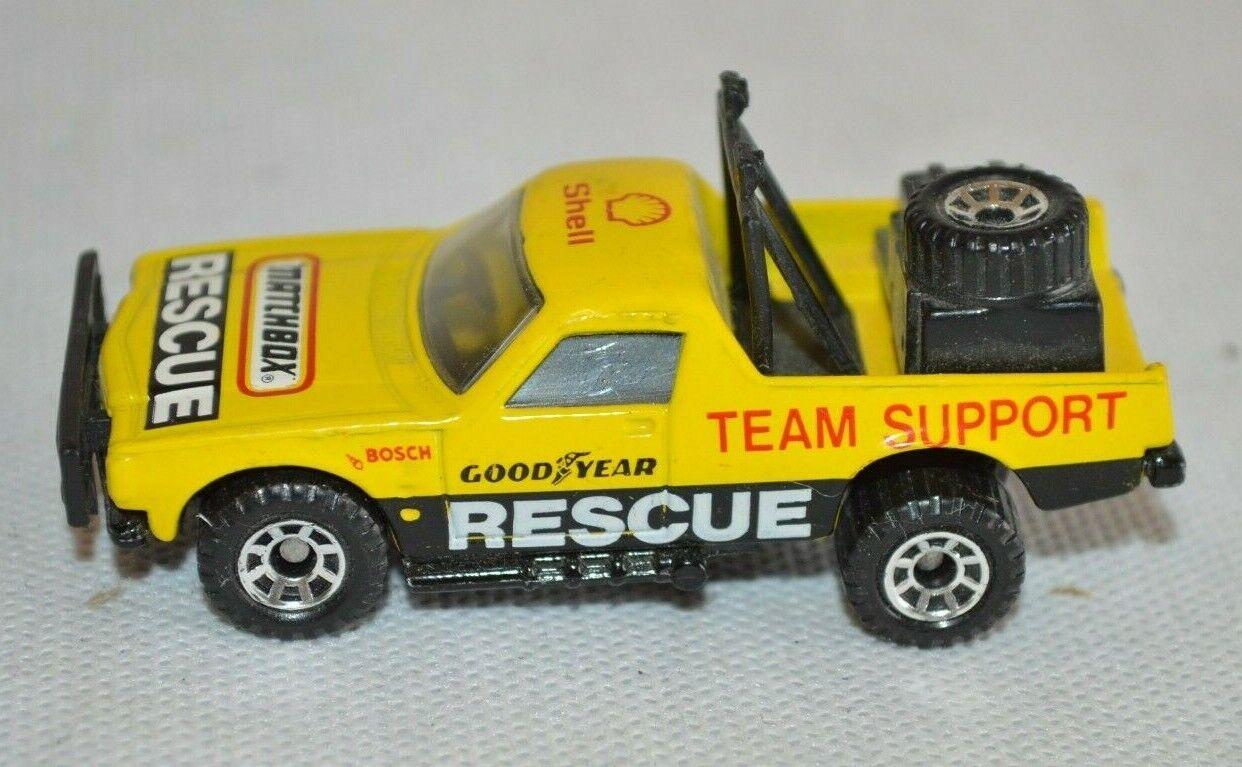 Matchbox Ruff Trek 1977 Macau Shell Rescue Top Erhaltung Fach A4