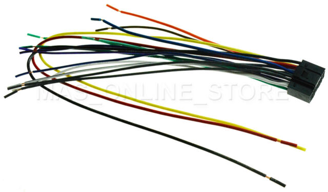 Wire Harness for Kenwood Ddx-492 Ddx492 *pay Today Ships Today* on