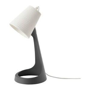 SVALLET-Work-Lamp-With-LED-Bulb-NEW-Dark-gray-White