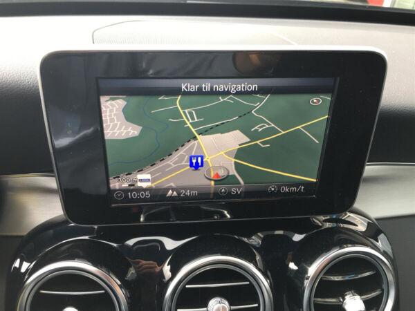 Mercedes C250 2,0 AMG Line stc. aut. billede 16