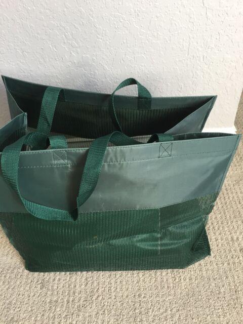 RARE Official Masters Green Shopping Bag Augusta National Golf Club ... b4a6b05768cd0