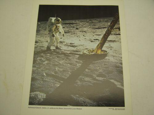 """1969 ORIGINAL NASA PHOTOGRAPH KENNEDY SPACE CENTER APOLLO MOON LANDING 14 x 11"""""""