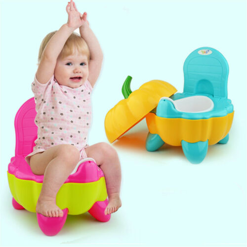 Pumpkin Kids Baby Toilet Seats Portable Toddler Training Safety Potty Trainer