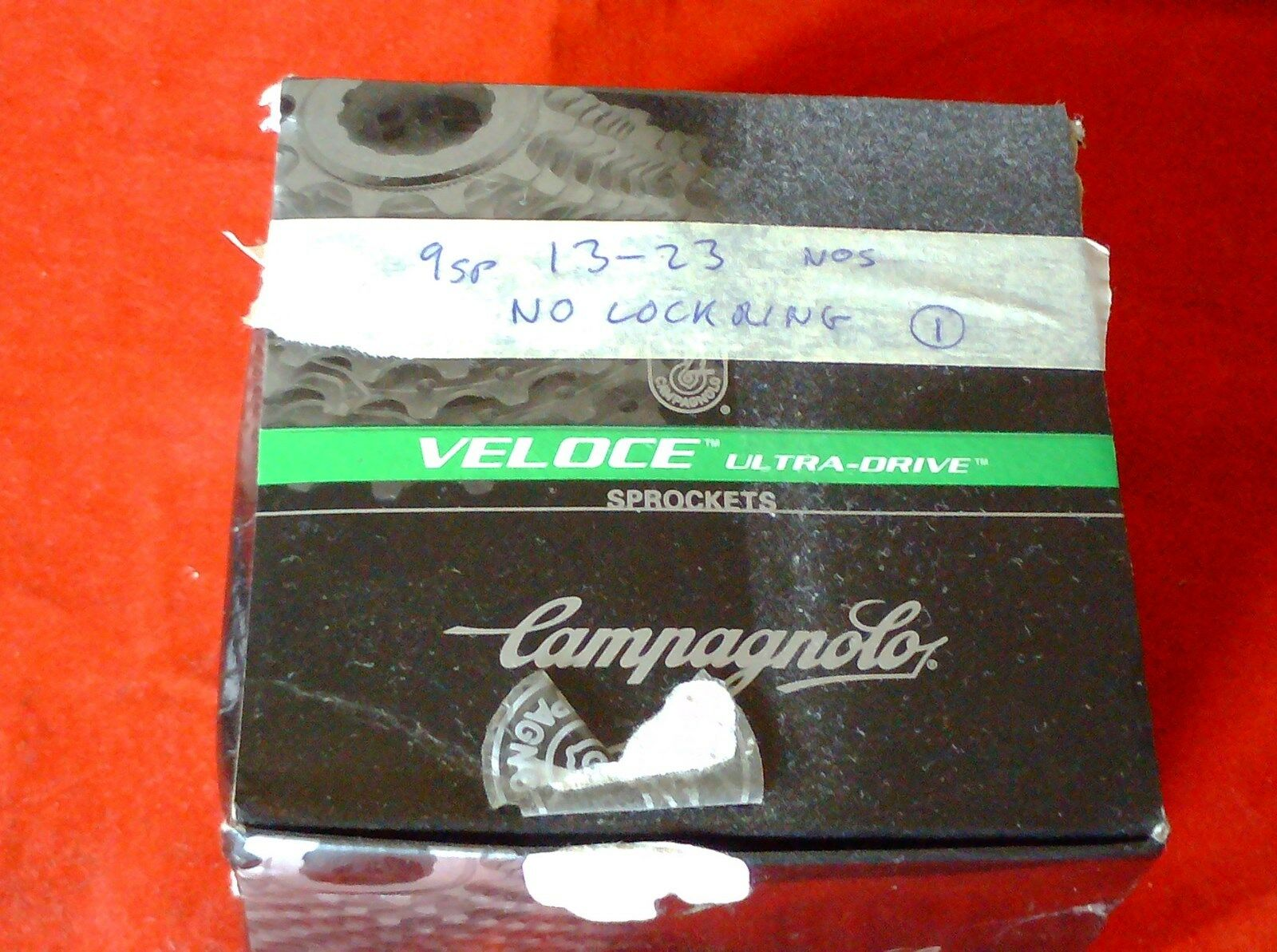 CAMPAGNOLO VELOCE UD 9 SPEED 13-23 TOOTH CASSETTE    Guter Markt