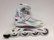 Roces Optic white pink Fitness Inline Skates Gr. 39 -Sale- Inlineskate Damen