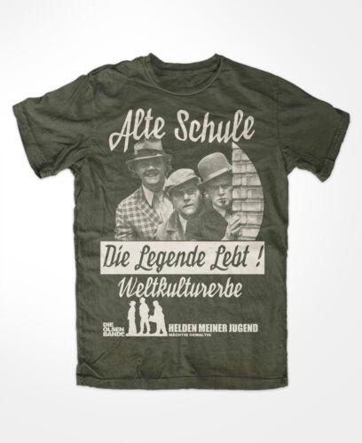 Mächtig Gewaltig Olsenbande Legende T-Shirt OLIV Weltkulturerbe,Kult