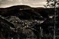 Schenkenzell Schwarzwald Postkarte 1954 gelaufen Gesamtansicht Panorama