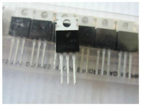 TIP42C POWER TRANSISTOR PNP 100V 6A 100 pcs