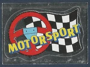 #029-motor Sport-silver Foil Obedient Panini Supersport 1988/89 Racing-other Sports Mem, Cards & Fan Shop