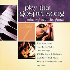 FREE US SHIP. on ANY 2 CDs! NEW CD Various Artists: Play That Gospel Song 1
