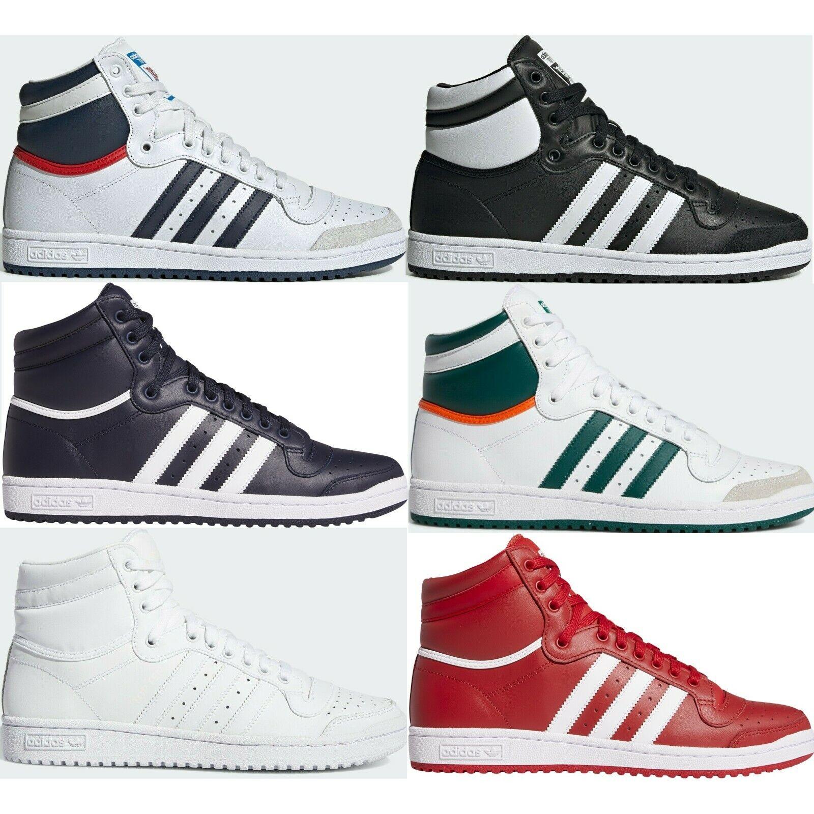 Adidas Originals Top Ten Hi Sneakers Men's Lifestyle Comfy Shoes